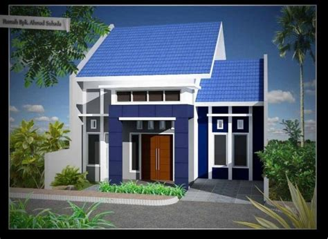 contoh kombinasi warna cat exterior rumah minimalis