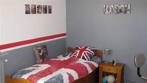 chambre garcon ado pour les couleurs des murs et le With couleur de chambre ado