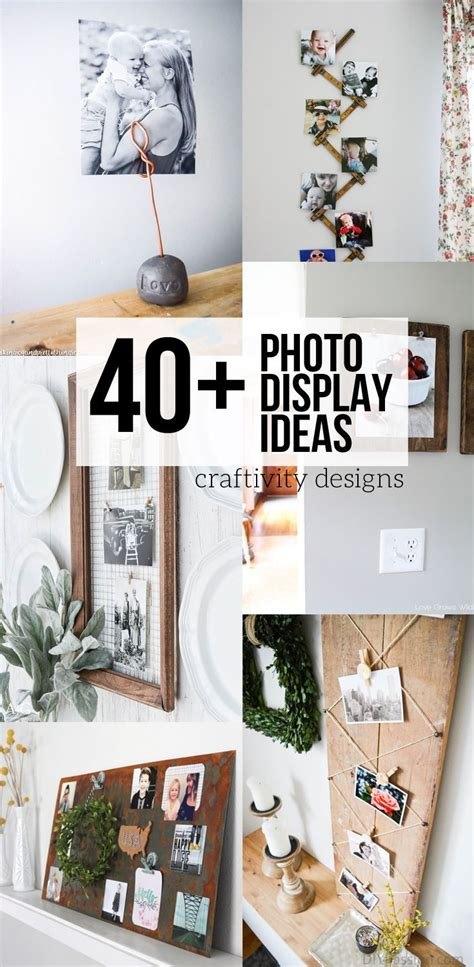 25 unique photo displays ideas on pinterest photo