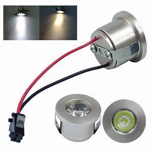 Spot à Led : 1 3w recessed mini spotlight lamp ceiling mounted led downlight ceiling light ebay ~ Melissatoandfro.com Idées de Décoration
