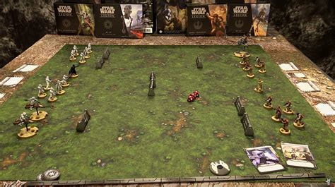 wars play mat how to play wars legion demo spikey bits