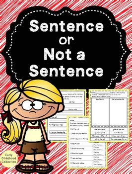 sentence    sentence fragment  early childhood