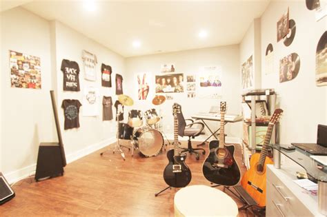 Storage Ideas For Kitchens - basement life music room