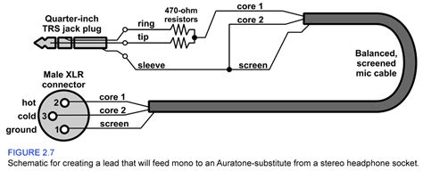 stereo to mono cable