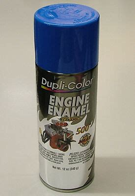 dupli color de1601 ford blue engine spray paint ebay