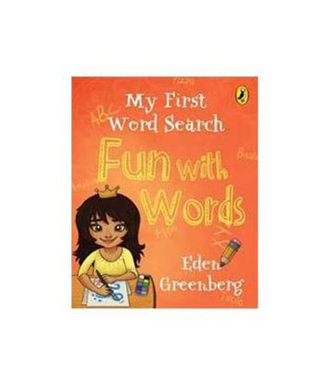 My First Word Search  Fun With Words Buy My First Word Search  Fun With Words Online At Low