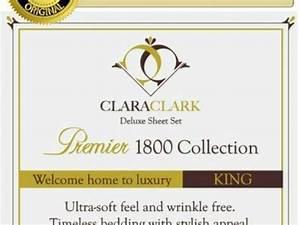Clara Clark Sheets Fundraiser Clara Clark Premier 1800