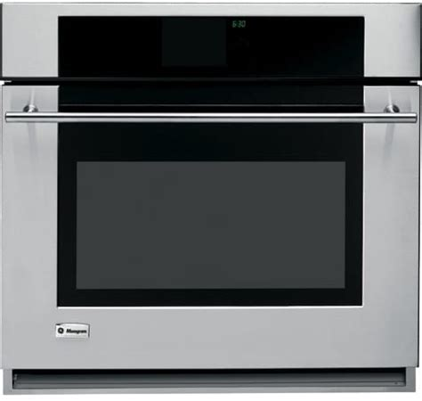 monogram zetrmss   single electric wall oven