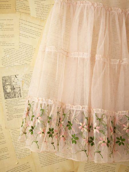 people vintage tulle skirt  pink pink rose lyst
