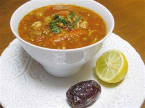 cuisine orientale recette recettes de soupe de lentilles de sanafa recettes de