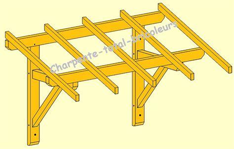 fabrication d une marquise en bois construire une marquise rev 234 tements modernes du toit
