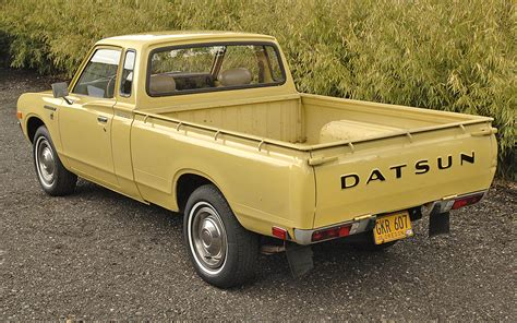 1977 Datsun Truck by No Reserve 1977 Datsun 620 King Cab Bring A Trailer