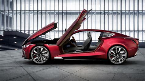 mg motor unveils  motion concept car  shanghai