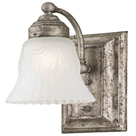 westinghouse 66494 1 light pewter wall light
