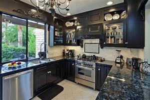 Black Granite Countertops (Colors & Styles) - Designing Idea