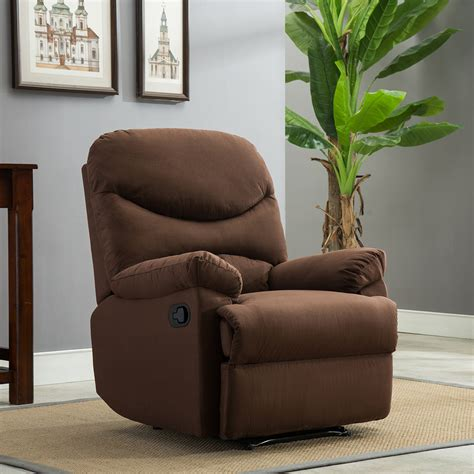 plush recliner livingroom reclining chair man cave tv
