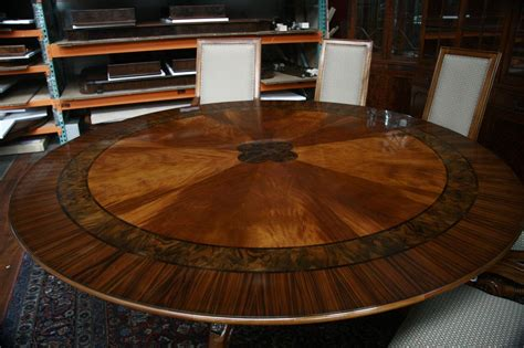 Large Round Dining Room Table Marceladickcom