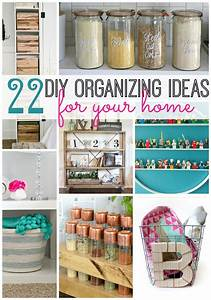 22 DIY Organizing Ideas For Your Home -- Tatertots and Jello