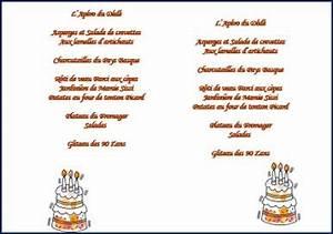 Modele De Menu A Imprimer Gratuit : modele menu mariage gratuit a imprimer tous pour un ~ Melissatoandfro.com Idées de Décoration