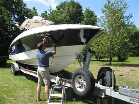 Boat Detailing by Ct Boat Detailing Mobile Boat Wash Wax Ct Mobile