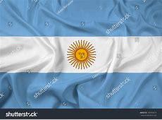 Waving Argentina Flag Stock Illustration 185958074