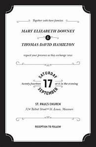 Black white affair wedding invitations vistaprint for Best paper for wedding invitations vistaprint