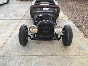 1929 FORD MODEL A CHOPPED RAT ROD HOT ROD BAGGED AIR RIDE ...