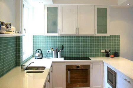 kitchen decorating ideas green paint colors  wall tiles
