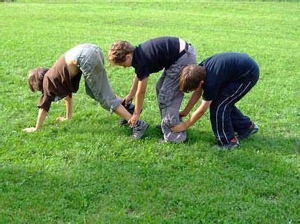 outdoor spiele für gruppen cooperation