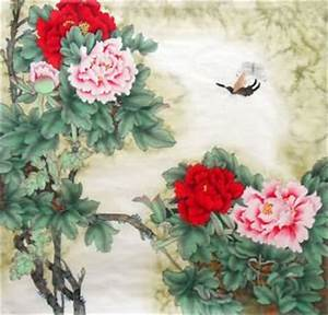 Page 7 Chinese Peony Paintings, China Peony Art Scrolls ...