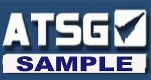 Atsg Transmission Repair Manuals