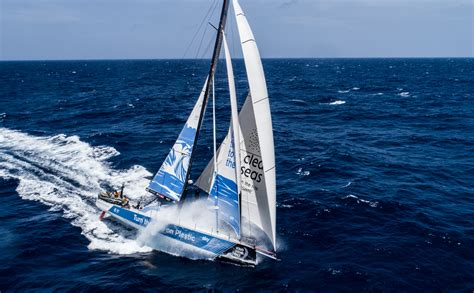 volvo ocean race small  making  difference