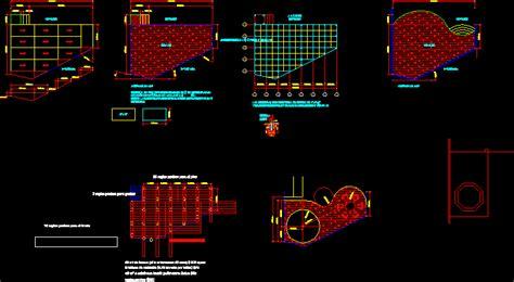 deck design dwg full project  autocad designs cad