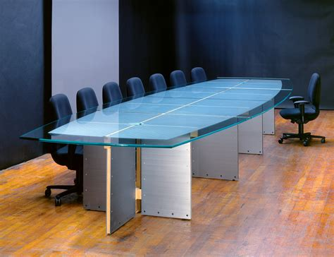 conference room table furniture large glass conference tables and custom glass boardroom