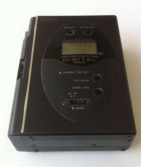 Aiwa Cassette Player by Aiwa Hs T280 Walkman Stereo Radio Cassette Player Digital