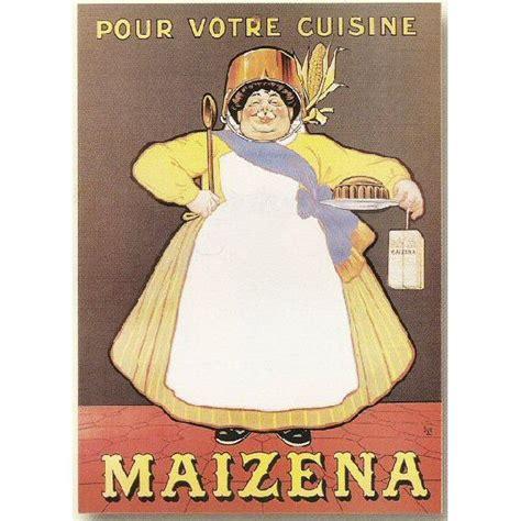 affiche cuisine affiche 50x70cm pub pub maizena pour votre cuisine achat