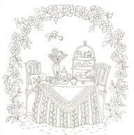 romantic country  fantasy coloring book  eriy