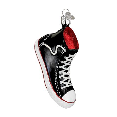 high top sneaker ornament traditions