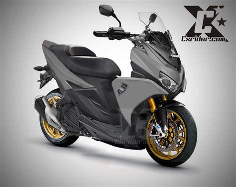Modifikasi Aerox by Modifikasi Yamaha Aerox 125 Lc Nmax Pun Kesaing