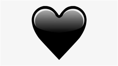 Black Heart Emoji Meaning