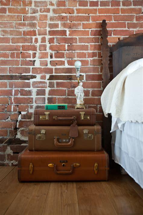 Suitcase Nightstand by 20 Adorable Diy Nightstands