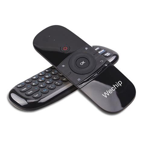 wechip w1 2 4g air mouse wireless keyboard