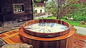 Spa Bois Exterieur : spa en bois haut de gamme pour ext rieur jardin storvatt ~ Premium-room.com Idées de Décoration