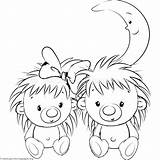 Hedgehog Coloring Pages Getcoloringpages sketch template