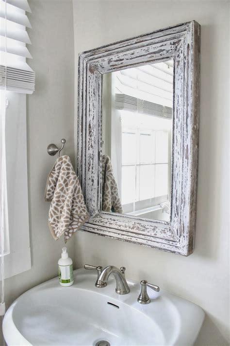 small bathroom chic elegant mirrors  bathrooms