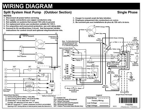defrost control  heat pump wiring diagram defrost