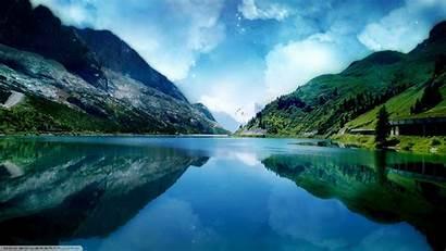 Lake Nature Landscape 5k Mountain Wallpapers Natural