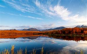 Clouds Autumn Reflection Wallpapers