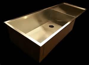kitchen sink with zero radius drainboard single bowl kitchen sink with