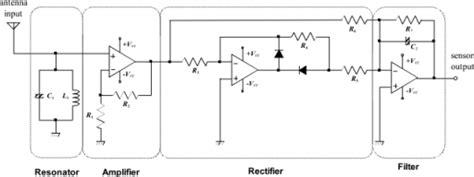 circuit diagram of electric field sensor open i